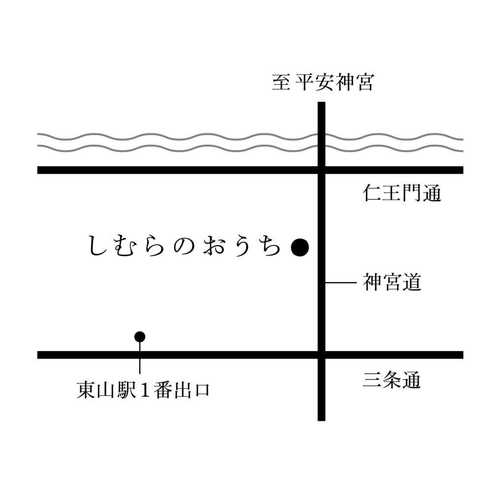 しむらのおうちmap